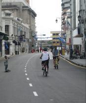 Malaysia, Penang car free sunday