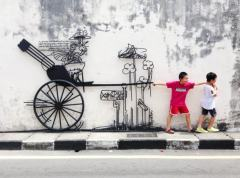 maylasia - street art children