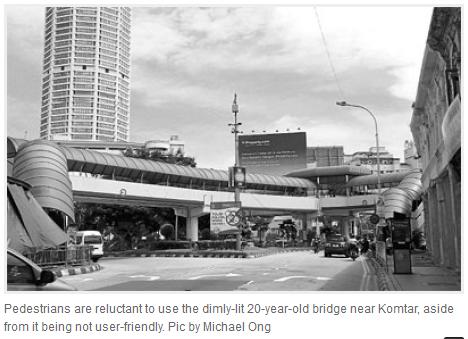 malaysia penang ped overpasses
