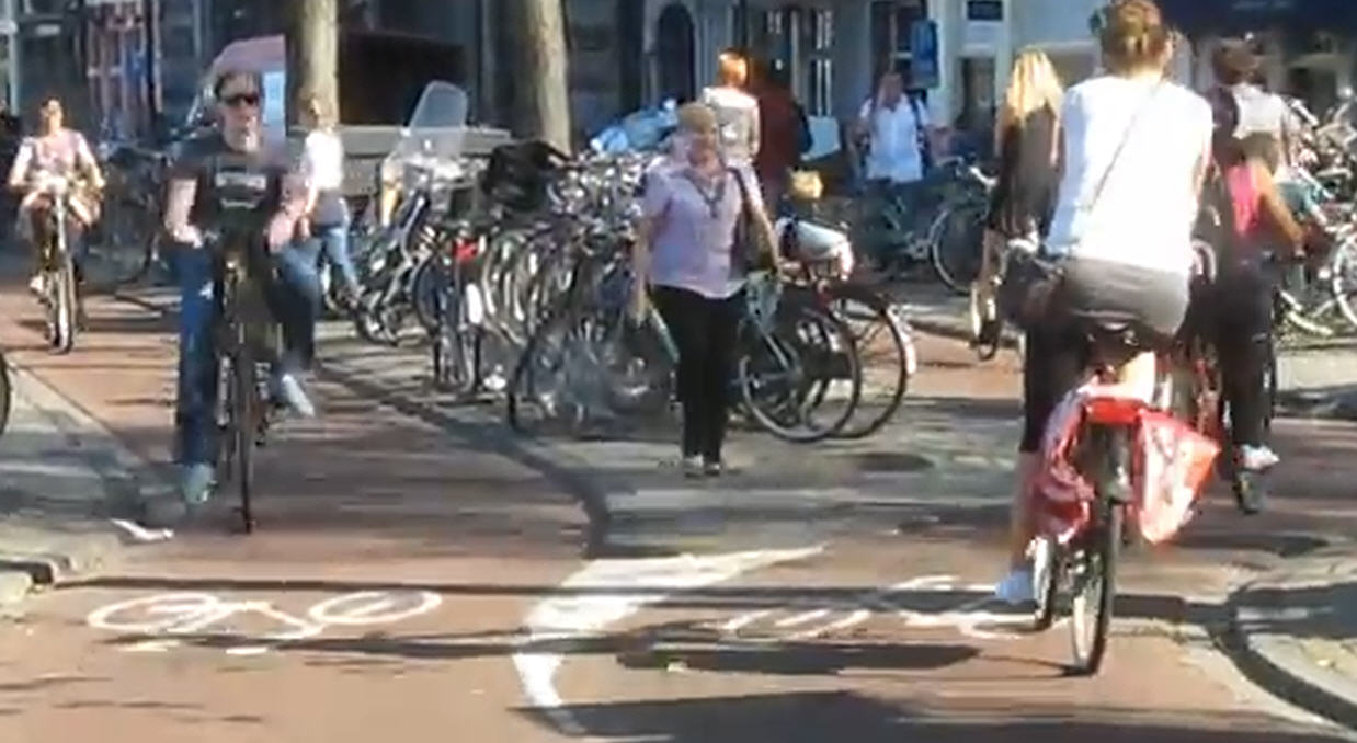 netherlands-amsterrdam-cycle-path