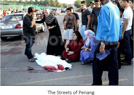 traffic accident death Penang