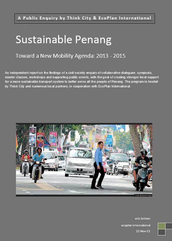 Penang report cover