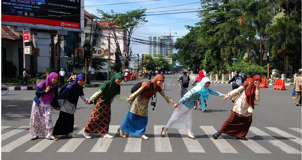 Bandung CFD girls