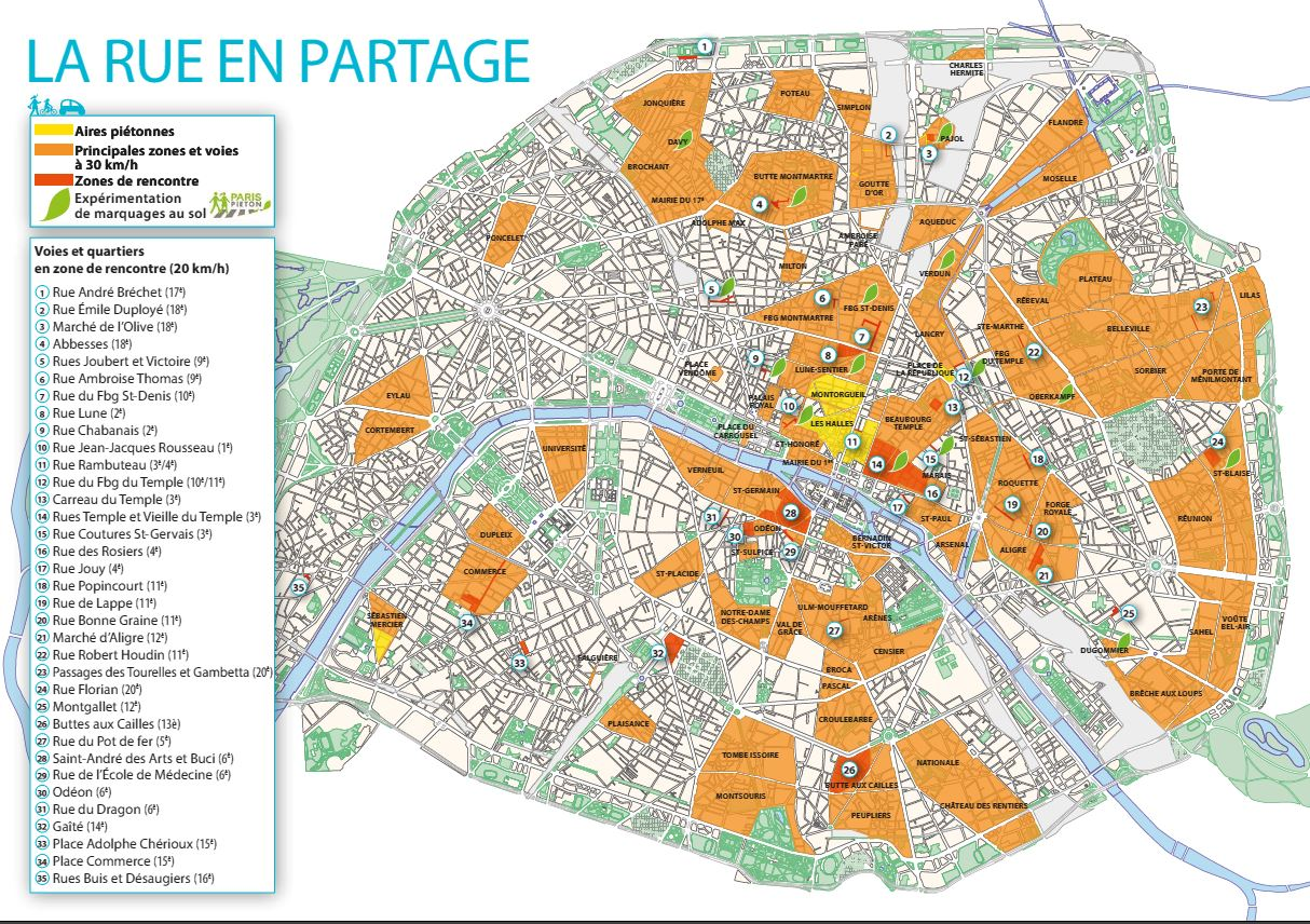 france paris zone 30 2013