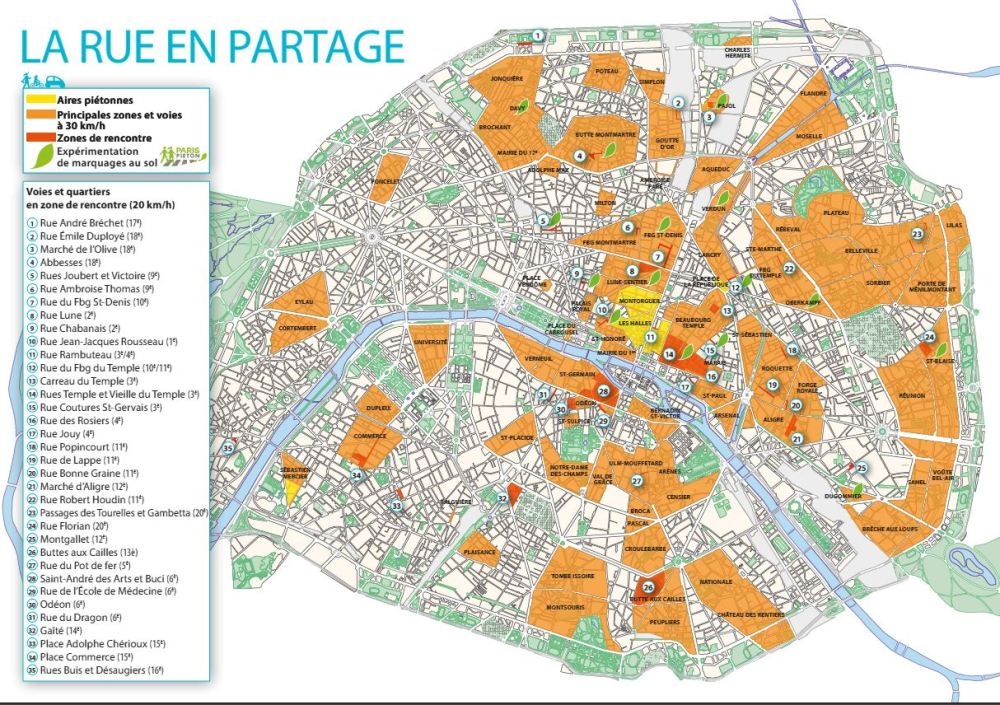 Paris to limit speeds to 30 km/hr over entire city (2/4)