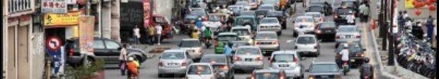 malaysia penang  traffic