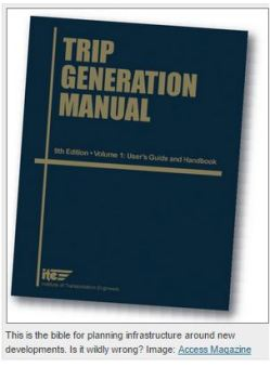 Streetsblog - Trip generation manual