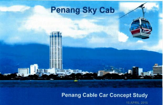 malaysa penang skycab