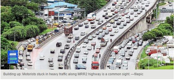 Penang heavy traffic smaller