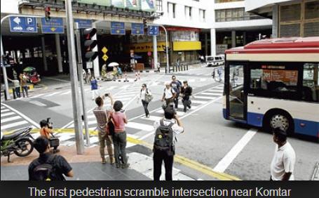 Penang intersection