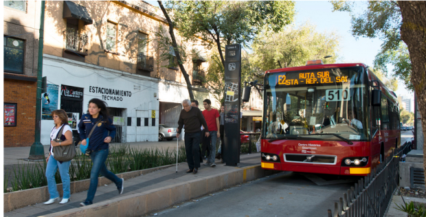 BRT lane in latin america - itdp