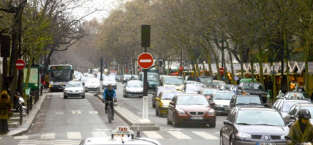 France Paris Mobilien bus priority