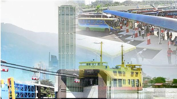 Penang master plan images