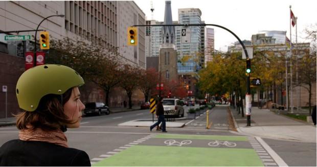 Canada woman helmet infrasructure momentummag.com