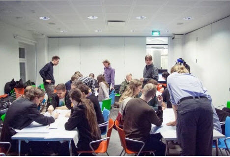 Finland Helsinki urban planners workshop