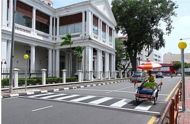 Penang pedestrian crossing