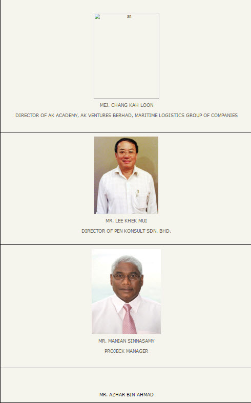Penang transport Council members 6