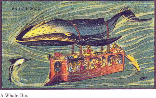 for pemamg - whale bus - Franc ein the year 2000