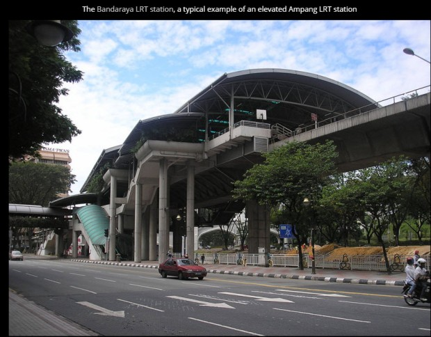 Malaysia Klng Valle LRT station