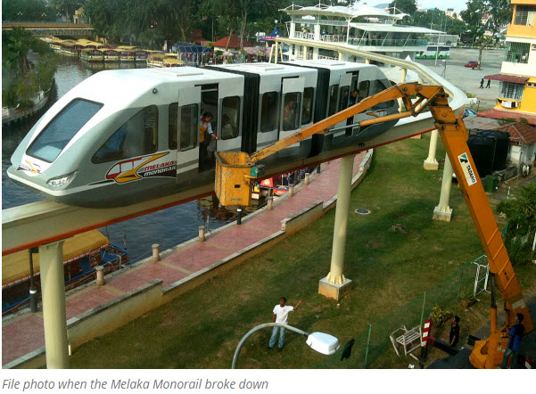 Monorail Malacca accident