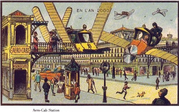 Penang - Future Skycab station - France 2000
