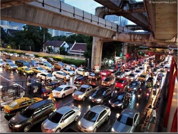 Bangkok Skytrain - Problem solved. Next? t