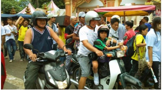 Penang motorised wo wheelers motorcycles