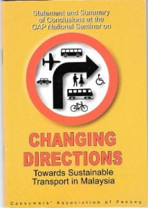 Towards Sustainable Transport in Malaysia – What we already knew in 2001 and are steadfastly ignoring today