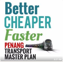 better cheaper faster penang transport master plan 2