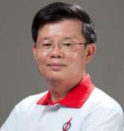 Chow Kon Yeow - tennis shirt