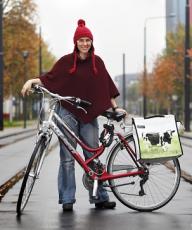 dr-dorina-pojani-on-bike