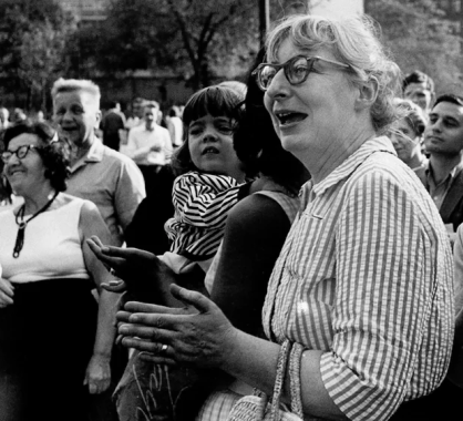 Jane Jacobs Washingon square demo