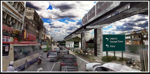 Penang monorail 2