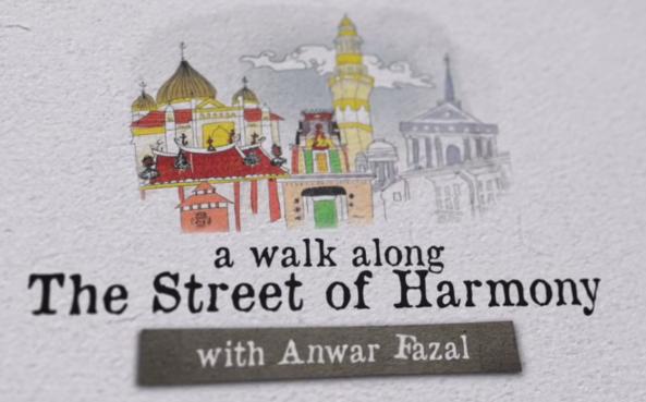 Penang Streets of Harmony - cover Anwar Fazal