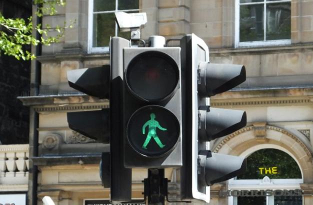 Green light behavior change