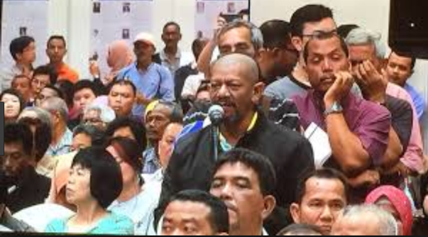 Penang civil society public meeting on PTMP - anil Netto.PNG