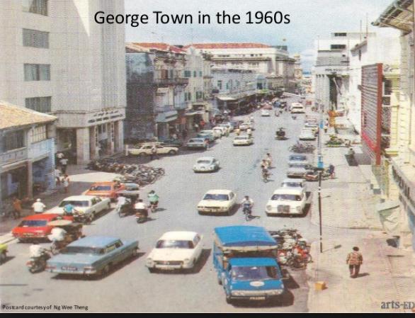 Penang George Town 1960s