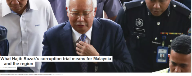 Malaysia corruption Najib PM police